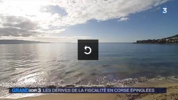Actualite Actualite Corse : les exemptions fiscales pointées du doigt