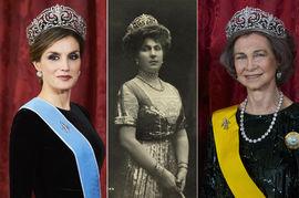 """Actualite Actualite Quand les reines d'Espagne portent le diadème """"fleur de lys"""""""