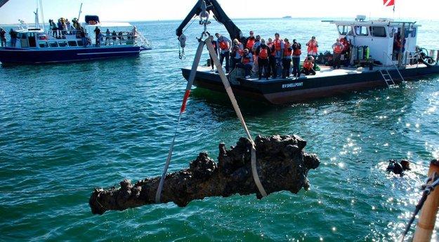Actualite Actualite Le bateau de Barbe noire enfin identifié